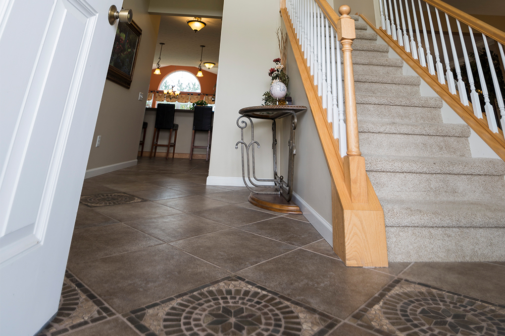 Front entrance flooring